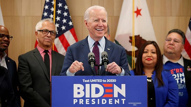 Vídeo:  Biden arrasa y Bloomberg se retira en el 'Supermartes':