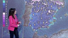 Lluvias en el norte, descenso térmico generalizado y fuerte viento