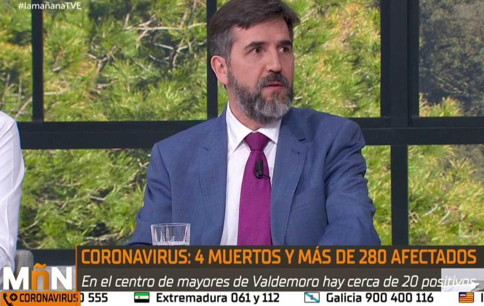 """La Mañana - El psicólogo Jesús Jiménez aconseja que """"la vida normal es la mejor recomendación para protegernos emocionalmente de esta epidemia"""""""