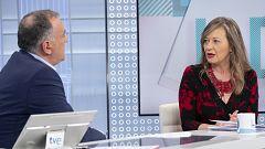 Los desayunos de TVE - Victoria Rosell, delegada del Gobierno contra la Violencia de Género