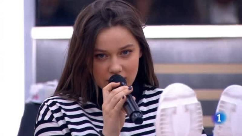 """Eva canta """"Bad Guy"""", de Billie Eilish, en el segundo pase de micros de la Gala 8 de Operación Triunfo 2020"""