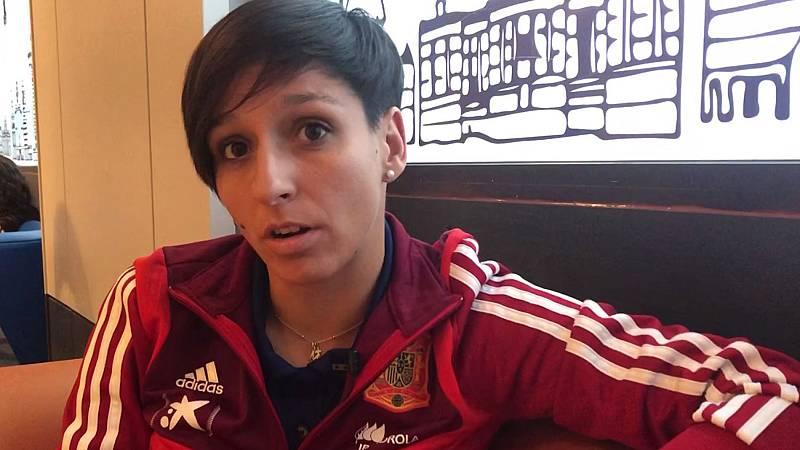 """Marta Corredera: """"Es fútbol para todos"""""""