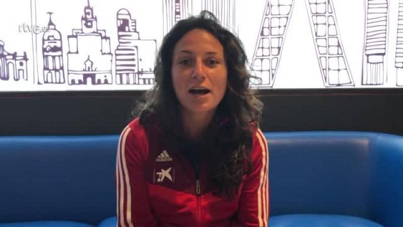 """Ivana Andrés: """"La etiqueta de fútbol femenino debería desaparecer"""""""