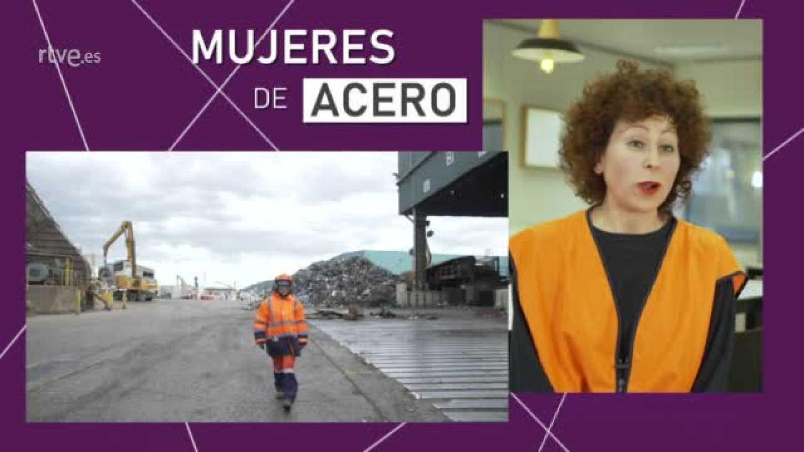 Magdalena y Eva, ingeniera y gruista: dos ejemplos de 'Mujeres de acero'