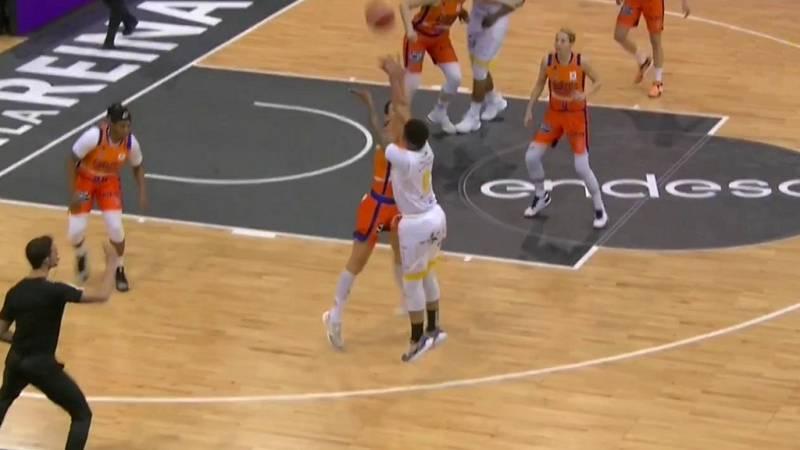 Baloncesto - Copa de la Reina 2020. 1/4 Final: Valencia Basket - Ciudad de La Laguna - ver ahora