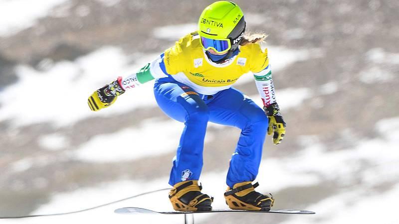 La francesa Trespeuch triunfó en el boardercross de Sierra Nevada