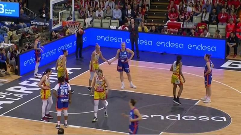 Baloncesto - Copa de la Reina 2020. 2ª Semifinal: Spar Citylift Girona - Valencia Basket - ver ahora