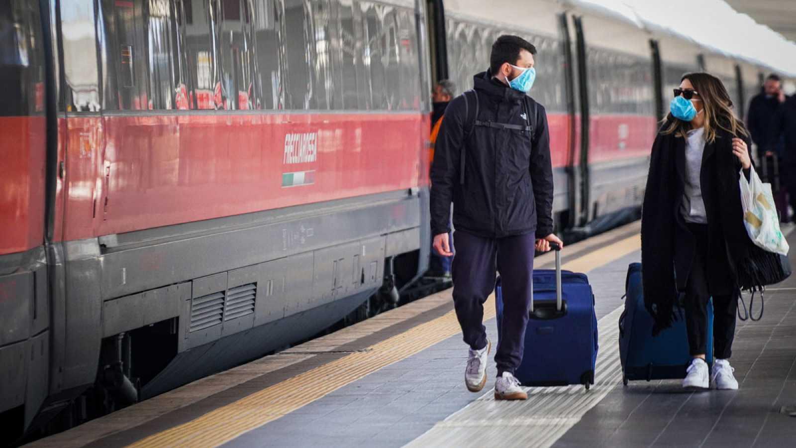 """Incertidumbre entre los estudiantes españoles en Italia ante el coronavirus: """"Vamos a tener que esperar"""""""