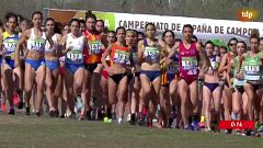 Cross - Campeonato de España. Carrera Absoluta y Sub-23 Femenina
