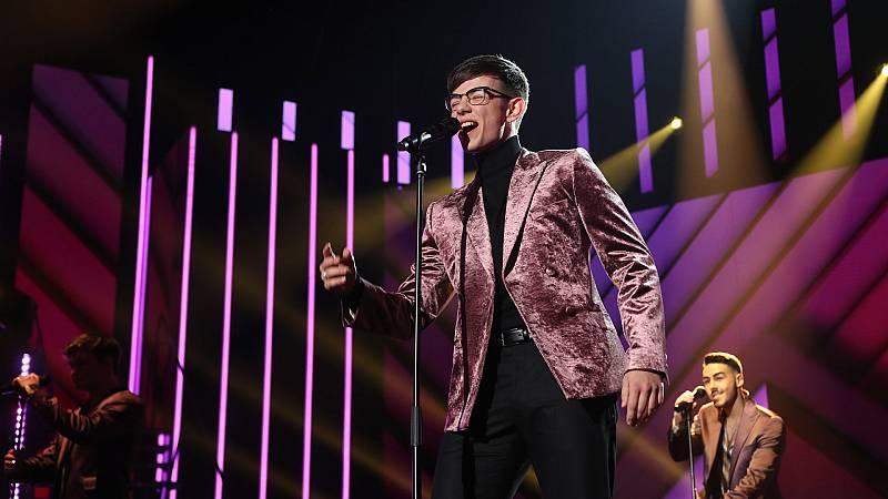 "Flavio canta ""Man! I Feel Like a Woman!"" en la Gala 8 de Operación Triunfo 2020"