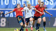 Resumen y goles del EE.UU. 1-0 España