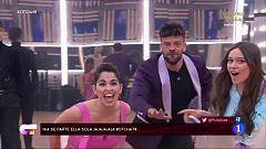 """OT 2020 - Los chicos juegan a adivinar canciones en """"El Chat"""" de la Gala 8"""