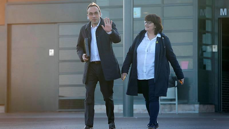 Josep Rull sale de la prisión de Lledoners para trabajar en Mútua Terrassa