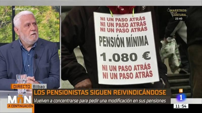 """La Mañana - Manifestación de pensionistas en Bilbao: """"Somos los pensionistas jubilados peor tratados"""""""