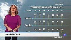 El Tiempo en Andalucía - 09/03/2020