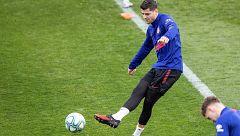 Morata, ausente en el entrenamiento previo a Liverpool