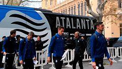 El Atalanta ya está en Valencia
