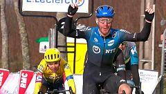 Nizzolo se lleva la segunda etapa de la París - Niza