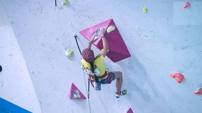 Deporte de montaña - Fuerza y constancia. El mantra de las jóvenes escaladoras de España - ver ahora