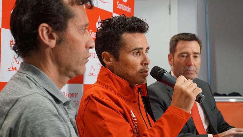El triatleta español Javier Gómez Noya afronta los próximos Juegos Olímpicos de Tokio 2020 con la ilusión intacta