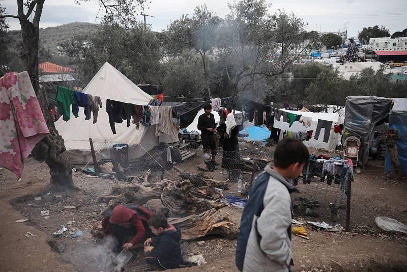 Alemania, dispuesta a acoger a 500 menores refugiados en la isla de Lesbos