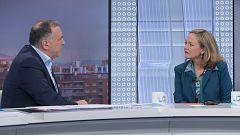 Los desayunos de TVE - Nadia Calviño, vicepresidenta tercera del gobierno
