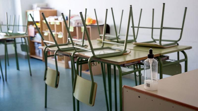 Un millón y medio de alumnos afectados en Madrid por el cierre de los centros educativos