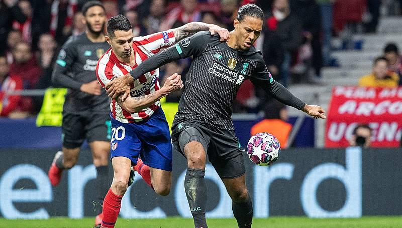 El Atlético de Madrid ya esta en Liverpool