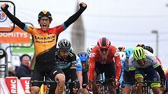 Iván García Cortina se impone a Sagan en la tercera etapa de la París-Niza