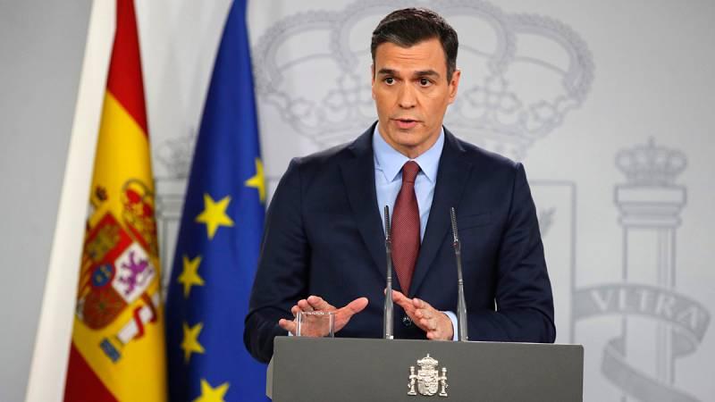 """Coronavirus: Pedro Sánchez promete medidas """"contundentes"""" para proteger el empleo y la liquidez de las empresas"""