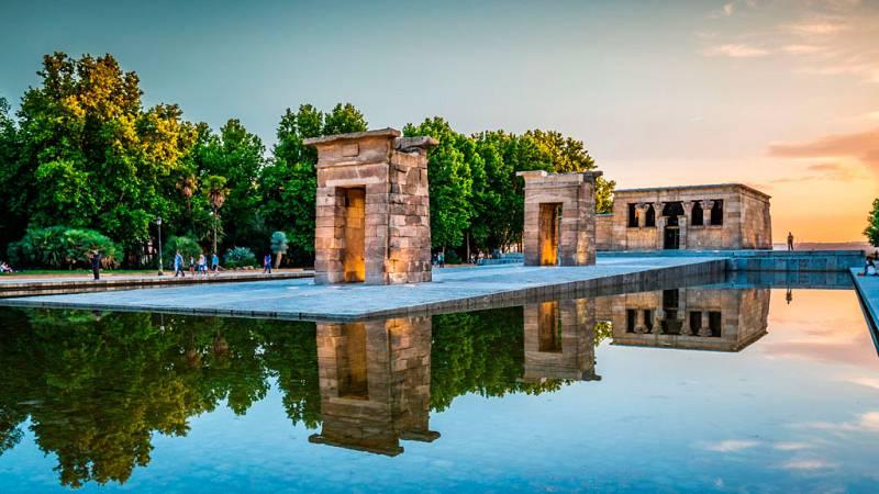 Se busca una solución para conservar el templo de Debod