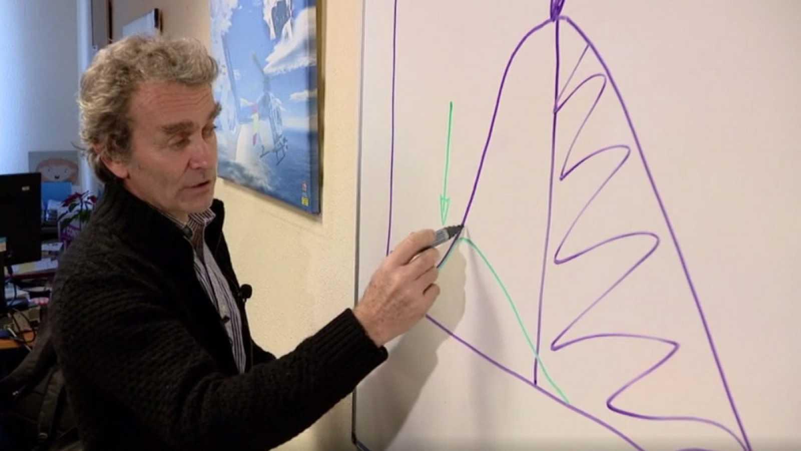 Fernando Simón explica cuáles son las curvas que puede seguir la epidemia del coronavirus