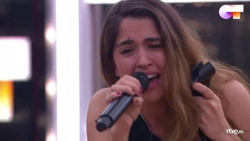 """Anajú canta """"Inevitable"""", de Shakira, en el primer pase de micros de la Gala 9 de Operación Triunfo 2020"""