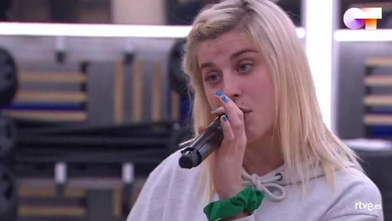 """Samantha canta """"Milionària"""", de Rosalía, en el primer pase de micros de la Gala 9 de Operación Triunfo 2020"""