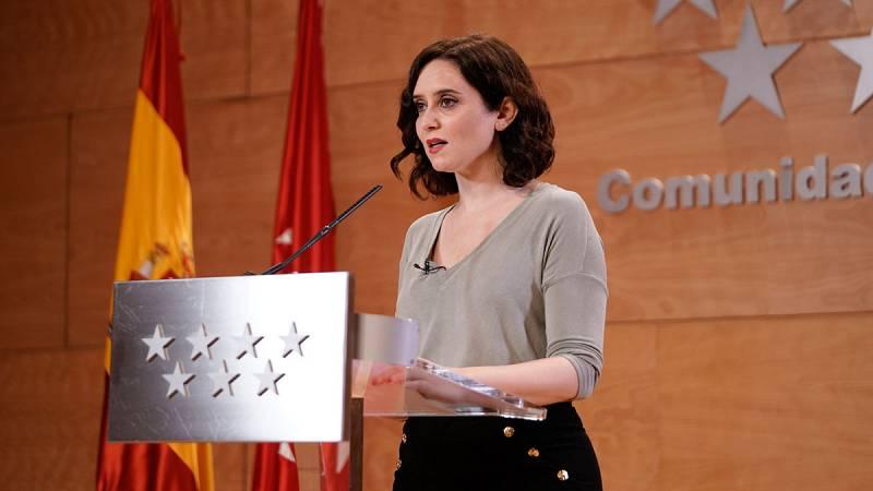 """Ayuso: """"Madrid no se va a cerrar o por lo menos no por orden del Gobierno regional"""""""