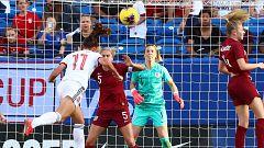 "Fútbol - Torneo amistoso femenino ""SheBelieves Cup 2020"": Inglaterra - España. Desde Frisco (EE.UU.)"
