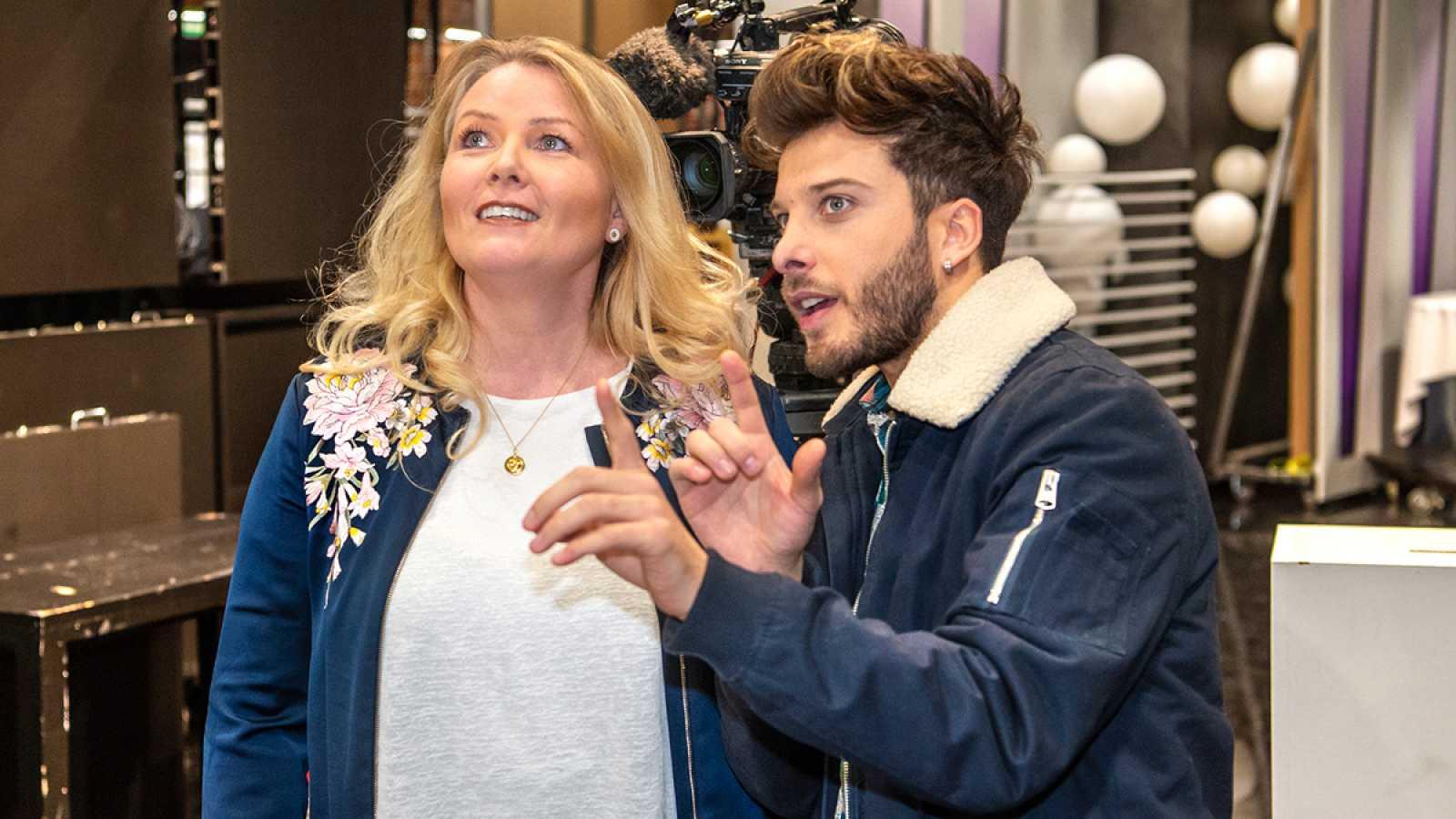 """Eurovisión 2020 - Primeros detalles de la puesta en escena de Blas Cantó y """"Universo"""""""