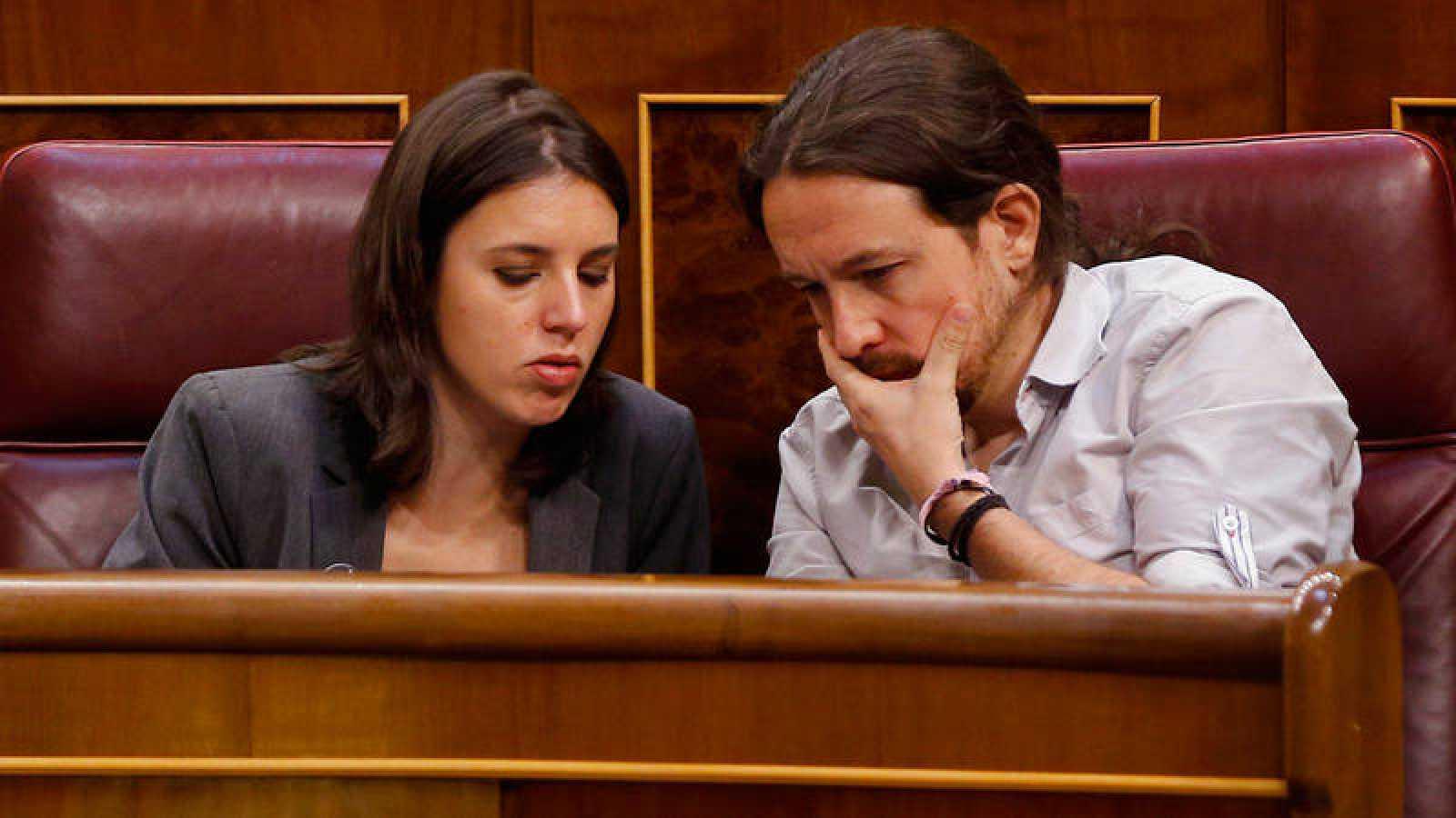 Irene Montero da positivo por coronavirus y Pablo Iglesias estará en cuarentena