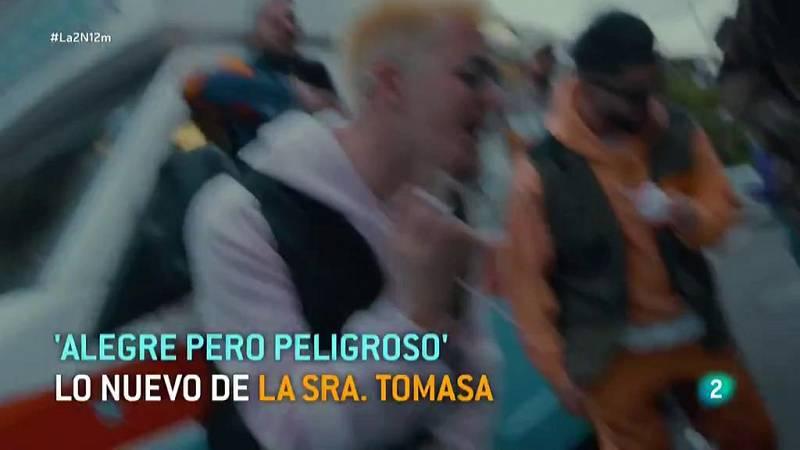 "La Sra. Tomasa saca su nuevo disco ""Alegre pero peligroso"""