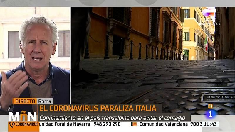 """Lorenzo Milá, sobre el coronavirus en Italia: """"Hemos necesitado un tiempo para comprenderlo"""""""