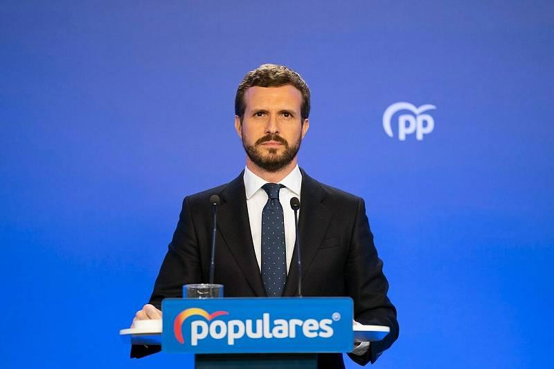 Pablo Casado apoyará al Gobierno en el estado de alarma