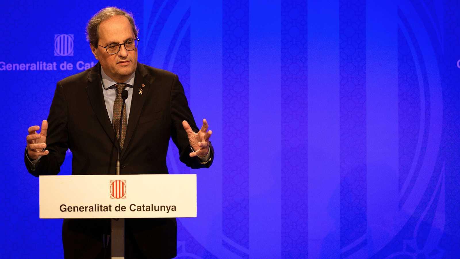 Coronavirus: La Generalitat pide al Gobierno confinar toda Cataluña