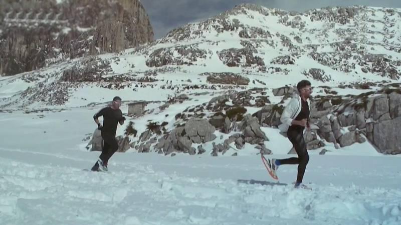 Deporte de montaña - Campeonato de España de Raquetas de Nieve 2020. Picos de Europa - ver ahora