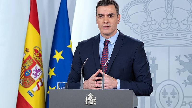 Vídeo: Sánchez anuncia la prohibición de todos los desplazamientos que no sean de fuerza mayor