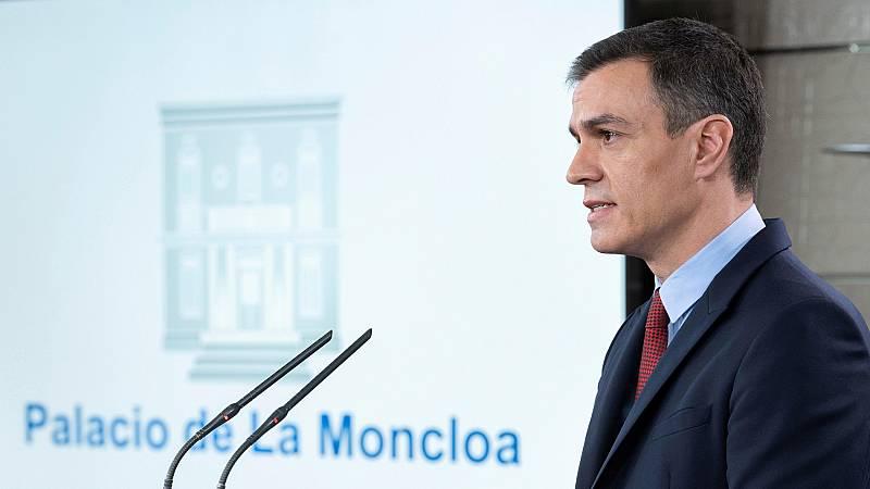 Vídeo: La comparecencia de Sánchez en la que ha anunciado las medidas del estado de alarma