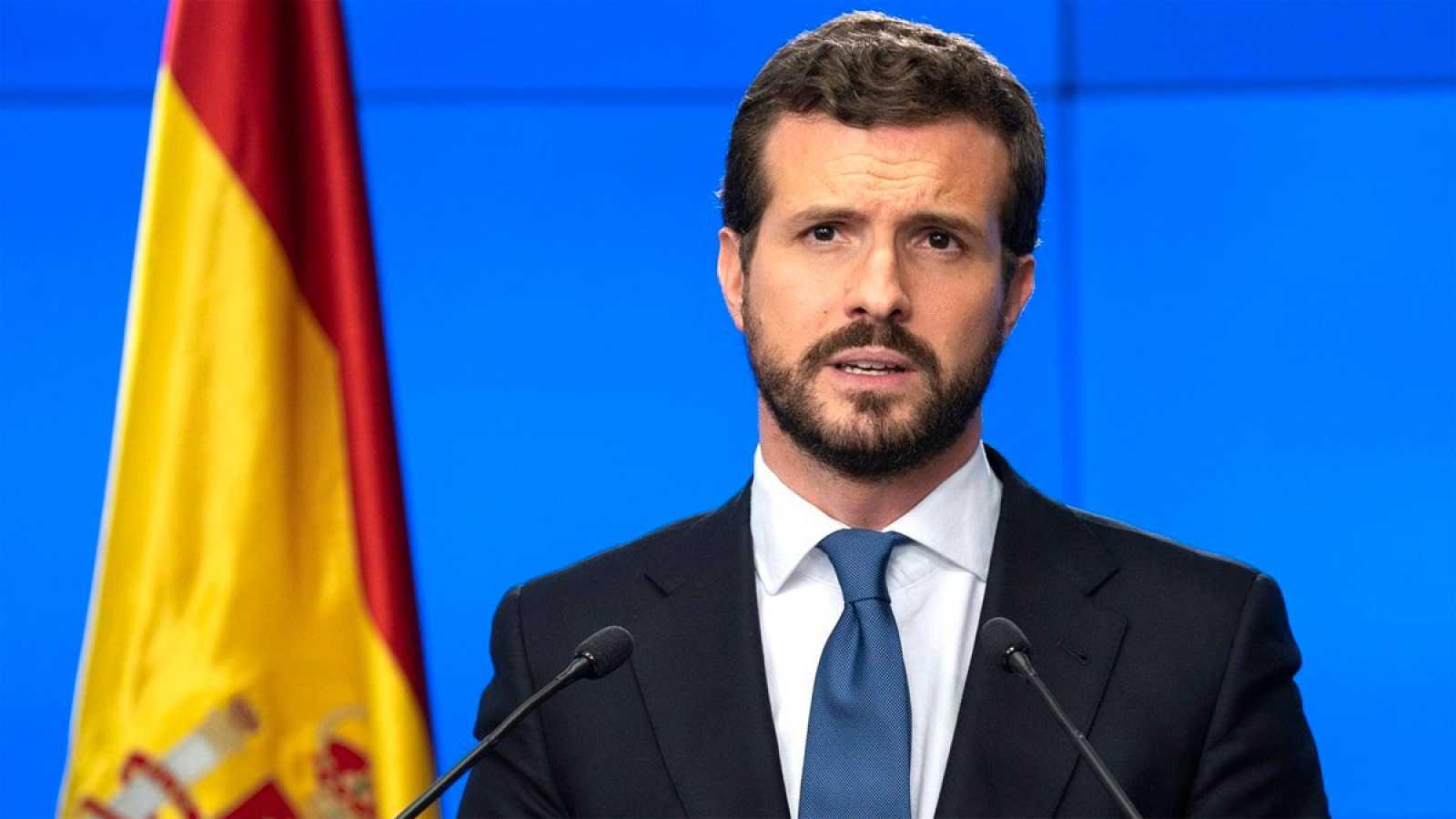 """Casado: """"No podemos estar al albur de los retrasos que imponen los socios de Podemos"""""""