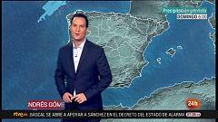 Un frente atlántico aumentará la nubosidad y la precipitaciones en gran parte de la Península