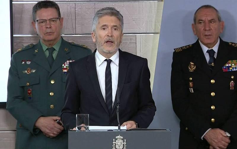 Grande Marlaska anuncia protocolos excepcionales de seguridad para garantizar que se cumplan las medidas del estado de alarma