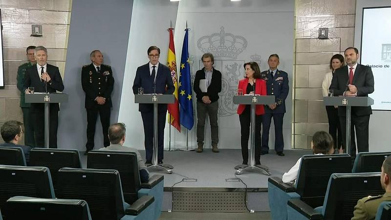 """José Luis Ábalos: """"Evitar el contagio y garantizar la movilidad deben ser compatibles"""""""