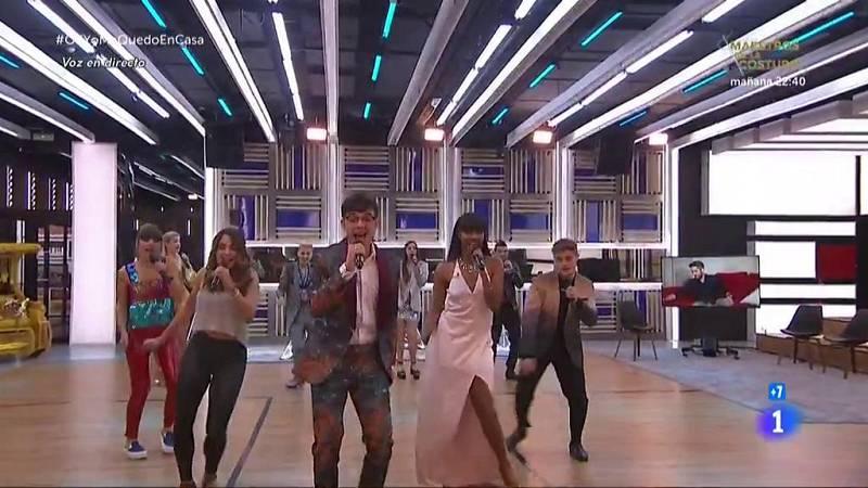"""OT 2020 canta """"Hey ya!"""" de Outkast en la Gala OTYoMeQuedoEnCasa de Operación Triunfo 2020"""